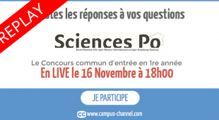 Replay du Grand Oral du Concours Commun – Campus Channel