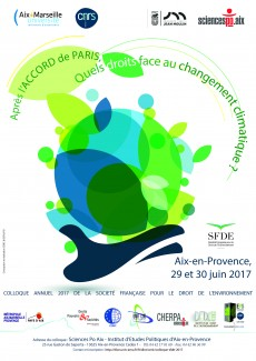 Colloque SFDE 2017