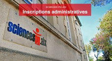 Inscriptions administratives 2020-2021